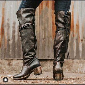 "Freebird ""Carolina"" over the knee boot"